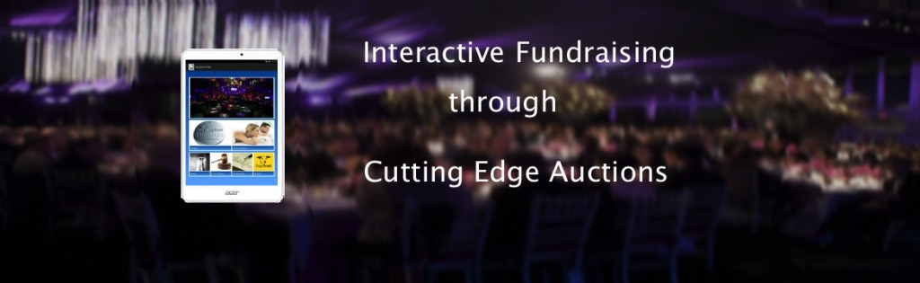 silent auction - Interactive fundraising through cutting edge auctions